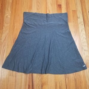 Columbia Pedal Flat Gray A-Line Pull On Skirt